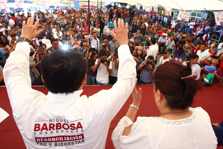 Situación actual que impera en seguridad pública es responsable de gobiernos anteriores: Barbosa