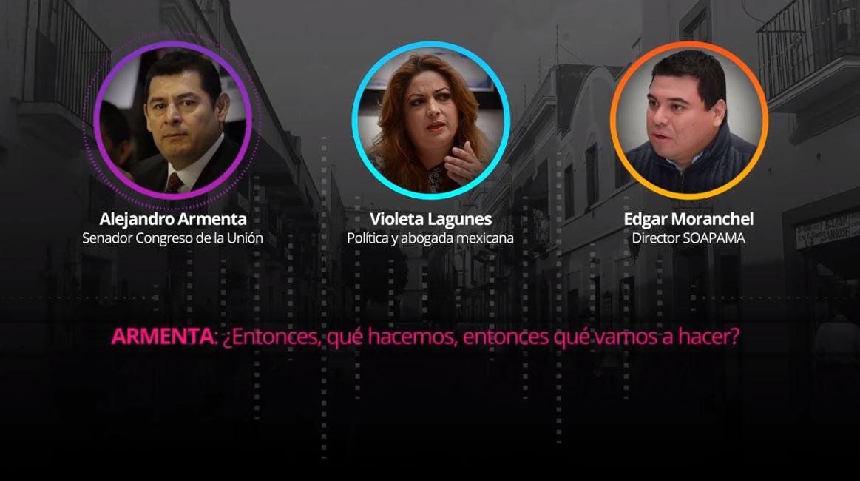 Filtran audio donde Armenta cuestiona salud de Miguel Barbosa
