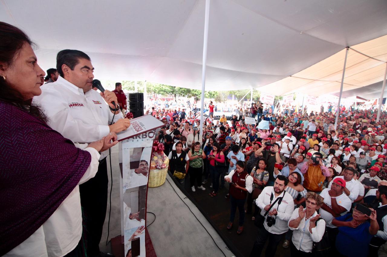 Central de abasto debe ser cuidada por el gobierno del estado: Miguel Barbosa