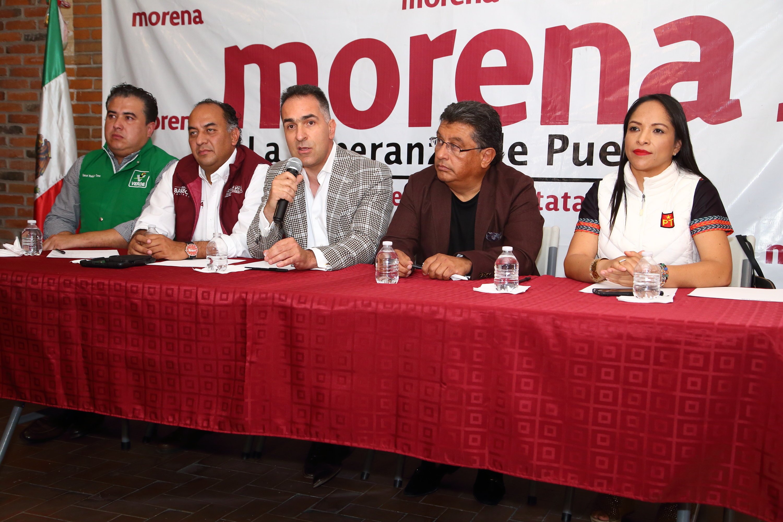 Fallo emitido por TEPJF ratifica a Miguel Barbosa como candidato a la gobernador: Voceros