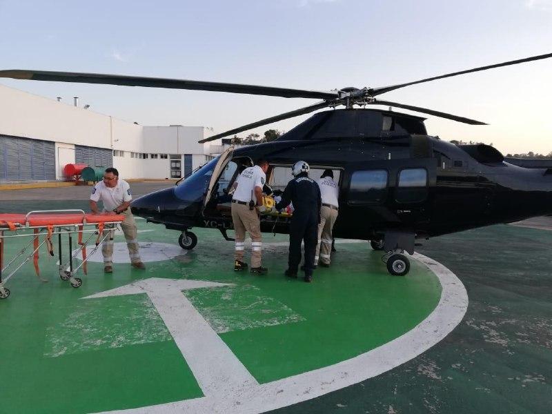 Continúan traslados aéreos para la atención médica