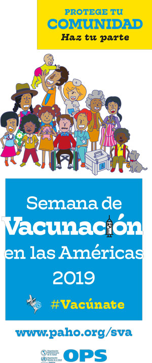 Semana de vacunación en las Américas