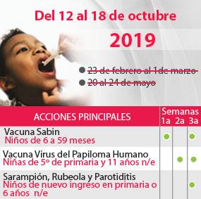 3 Semanas Nacionales de Salud