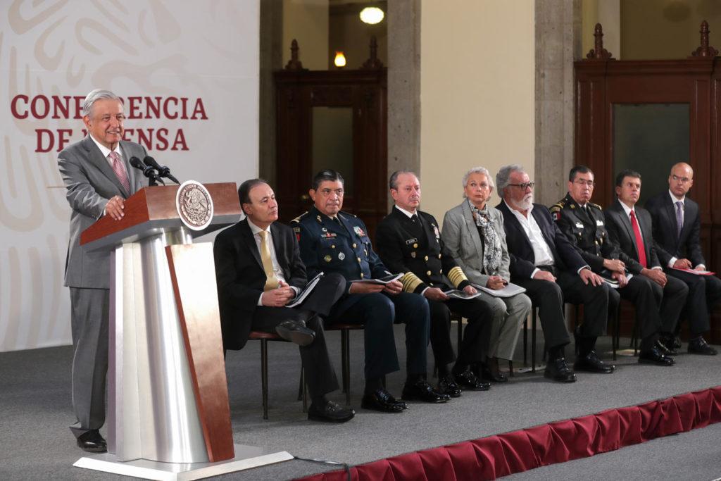 Presentan informe nacional de seguridad pública