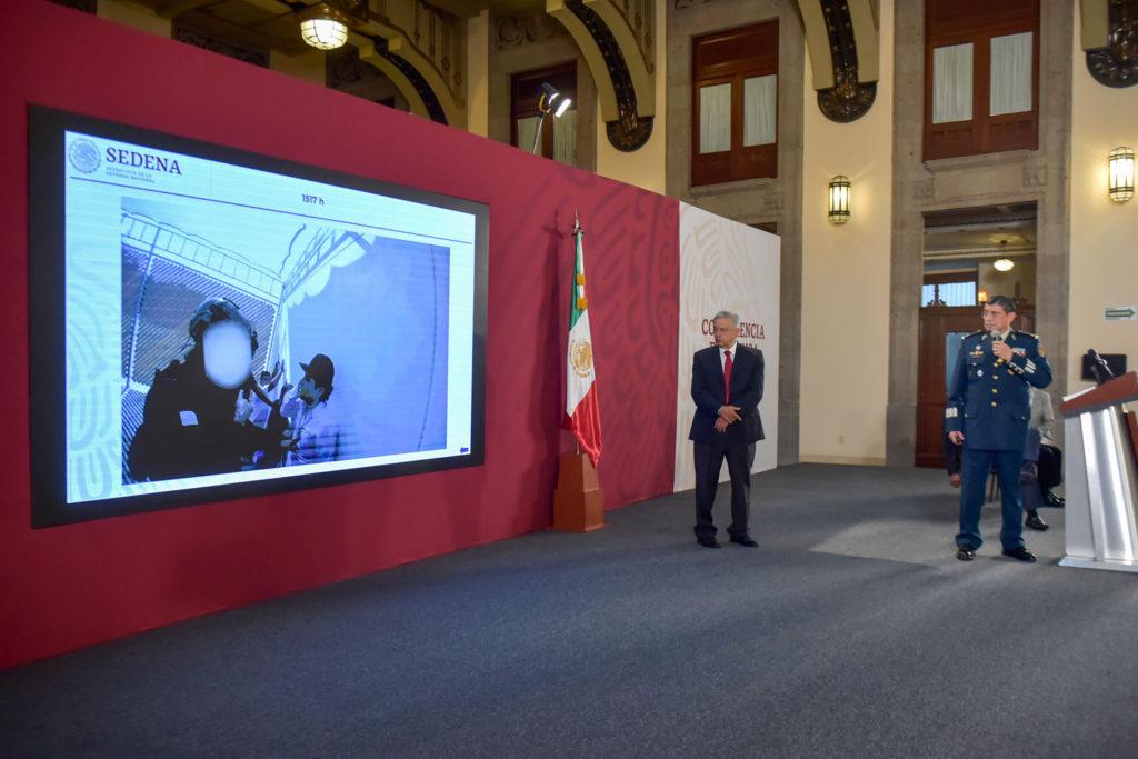 Presidente garantiza transparencia en hechos de Culiacán; presentan relatoría