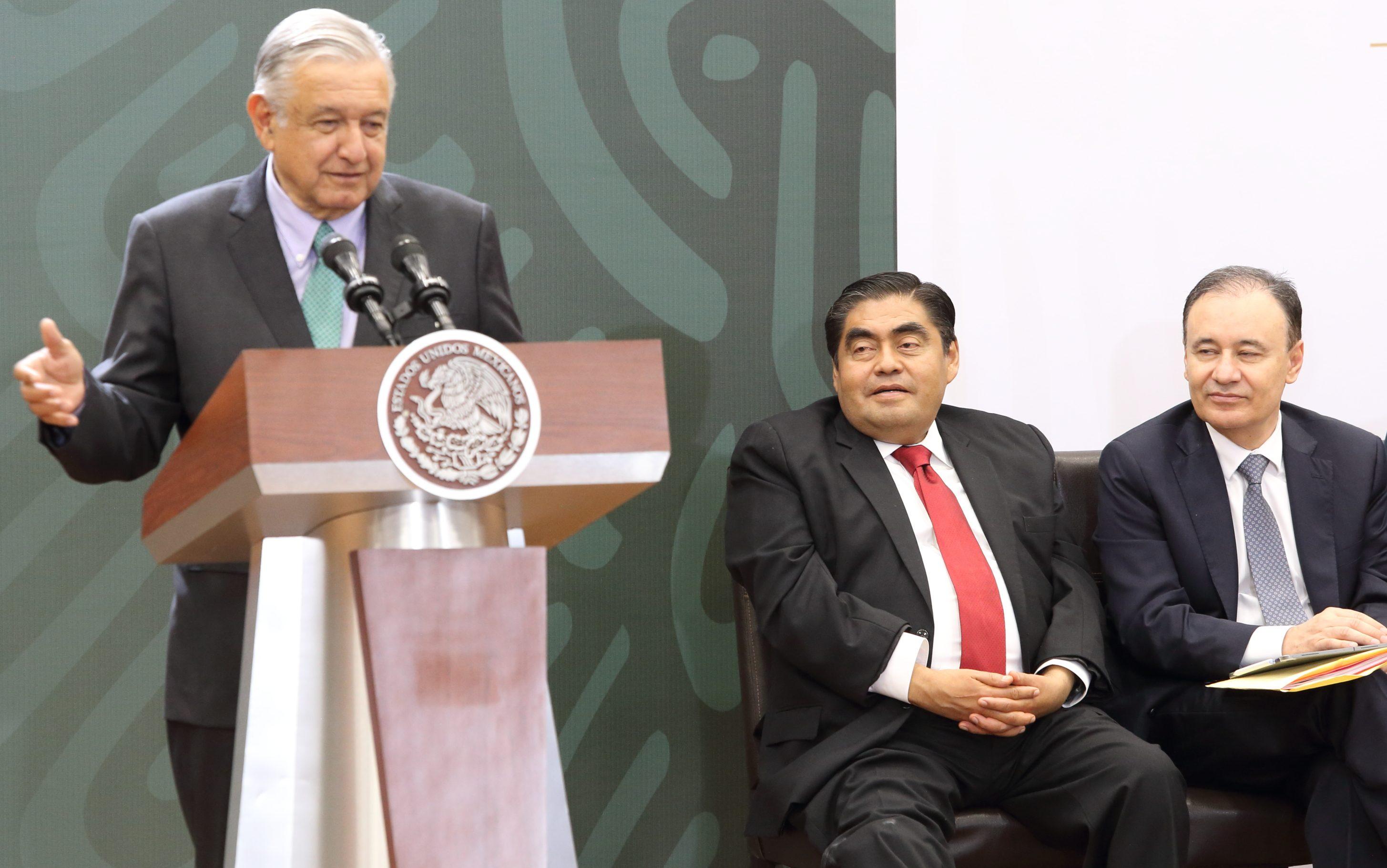 todo el apoyo para Puebla y su gobernador Miguel Barbosa: López Obrador