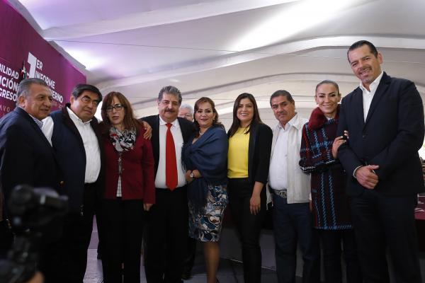 Pide Barbosa Huerta a los 217 alcaldes trabajar con honestidad