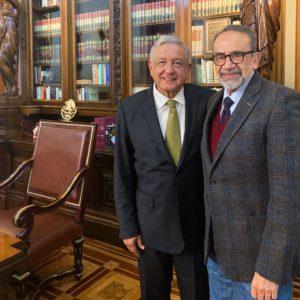 Presidente suma al doctor Ernesto Lammoglia a la estrategia contra las adicciones