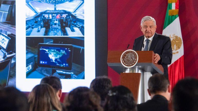 Avión presidencial podría ir a sorteo de la Lotería Nacional, anuncia presidente