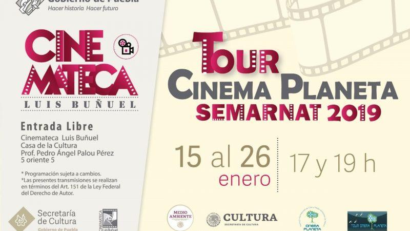 """Llega a Puebla muestra del festival """"Cinema Planeta"""""""