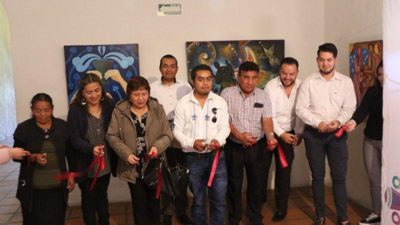 """Inauguran la exposición """"Cosmovisión Mazateca"""" del artista René Alvarado"""
