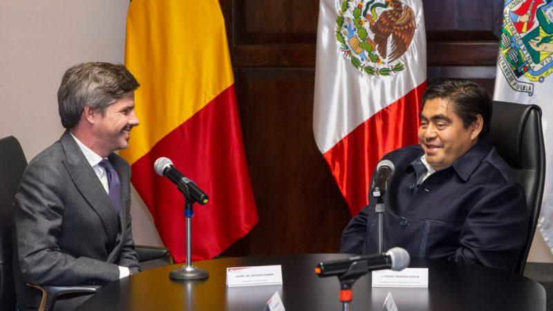 Goza Puebla de condiciones para desarrollo de empresas, afirma Barbosa Huerta