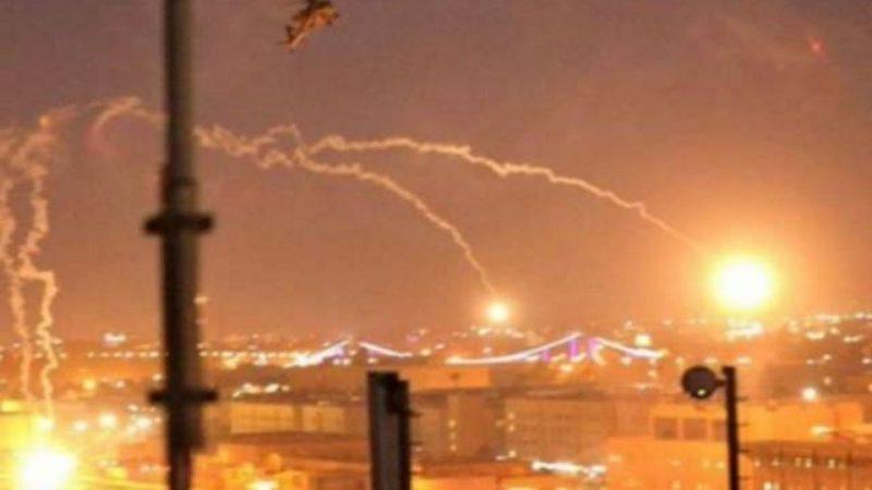 Lanzan cohetes a la embajada de Estados Unidos en Irak