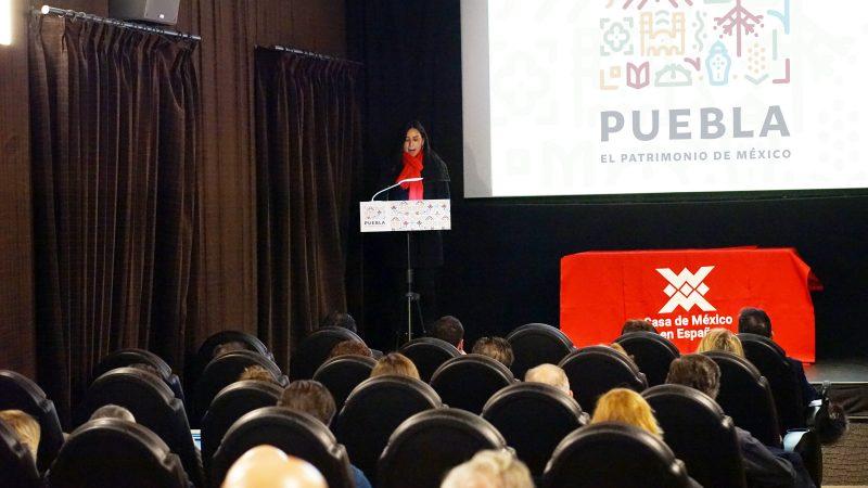 En España, presenta Puebla nueva marca destino para promoción turística