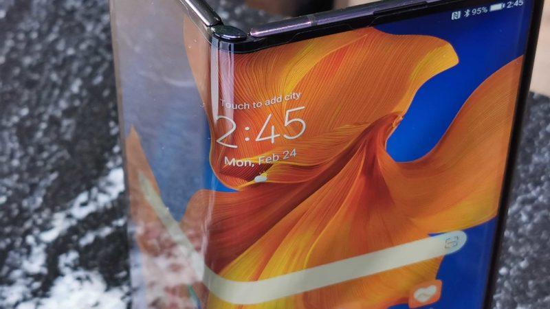 Llegará en abril Huawei Mate Xs  a México