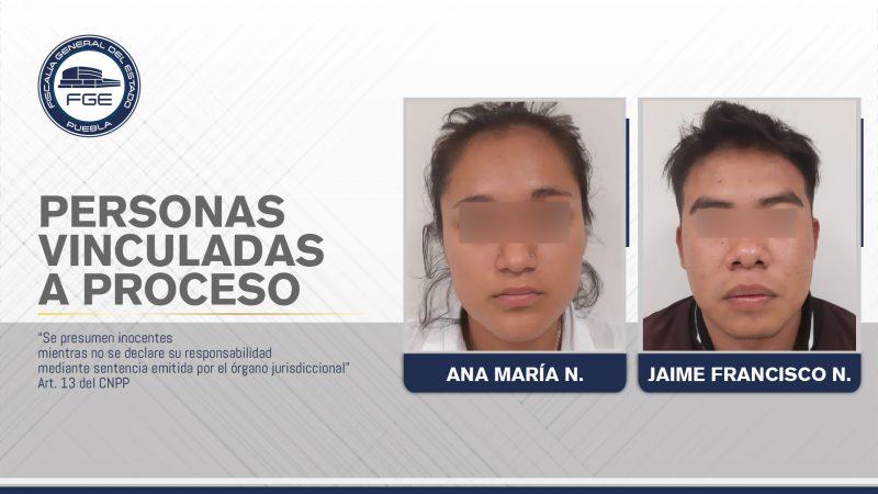 FGE obtuvo prisión preventiva contra dos personas por homicidio en Tehuacán.