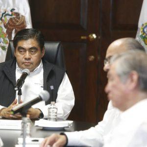 Asume Gobierno de Puebla nuevas medidas federales por COVID- 19: Barbosa Huerta