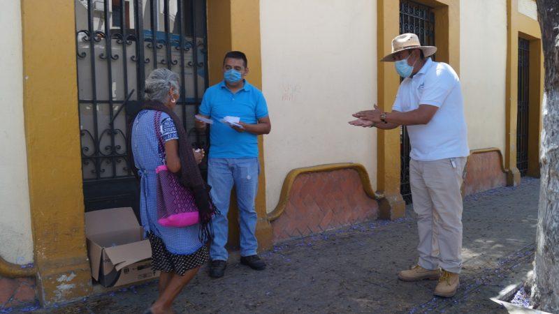 Entrega OOSAPAT más de 2 mil unidades de gel antibacterial en Tehuacán