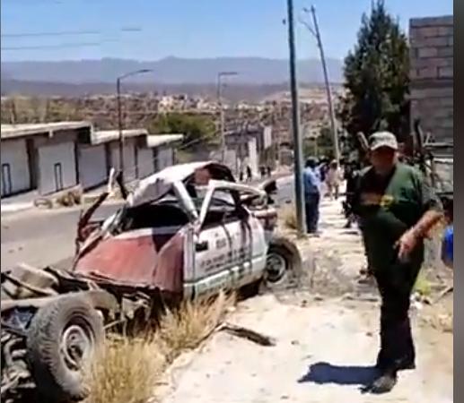 Fatal accidente deja un muerto y cinco heridos